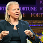 IBM grew its revenues for the first time in 23 quarters but investors are still selling off stock (IBM)