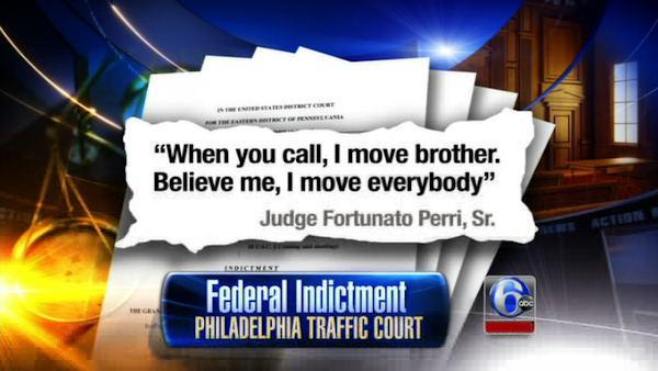 9 judges charged with Philadelphia ticket fixing