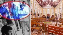 Eerie moment 'bomber' casually walks into church before deadly Sri Lanka explosion