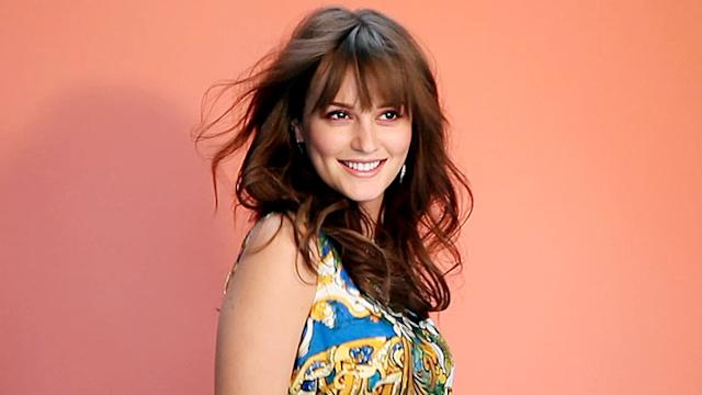 Our Exclusive Look at Leighton Meester's Lucky Shoot!