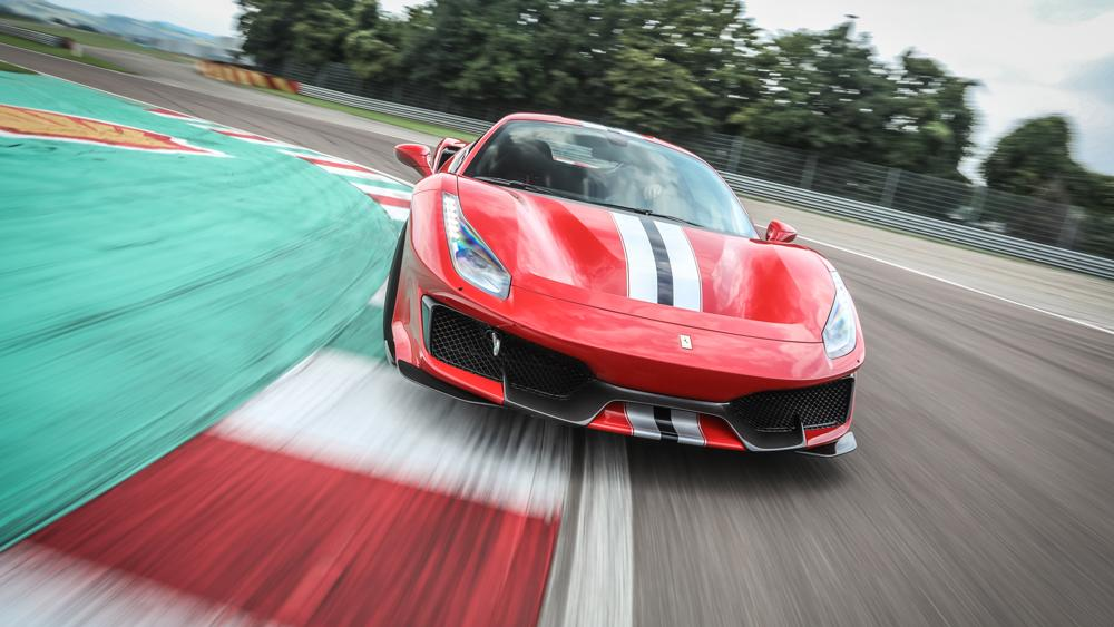 we drove the 488 pista at fiorano and the marque s