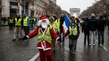 France's 'yellow vest' protests lose momentum on decisive weekend
