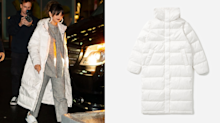 Selena Gomez embraces winter weather in a $261 eco-friendly puffer