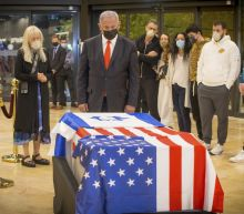 Billionaire right-wing patron Adelson buried in Jerusalem