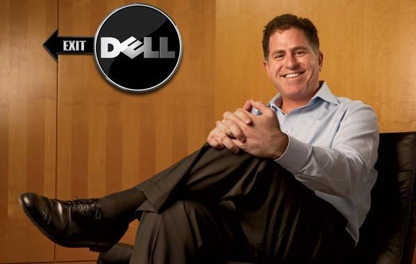 Michael Dell given an unsubtle hint by displeased shareholders
