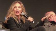 Polémica en la reunión de Scarface por una pregunta sobre el peso de Michelle Pfeiffer