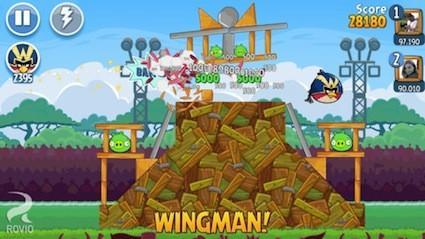 Angry Birds Friends recruits your Facebook friends in fight against the pigs