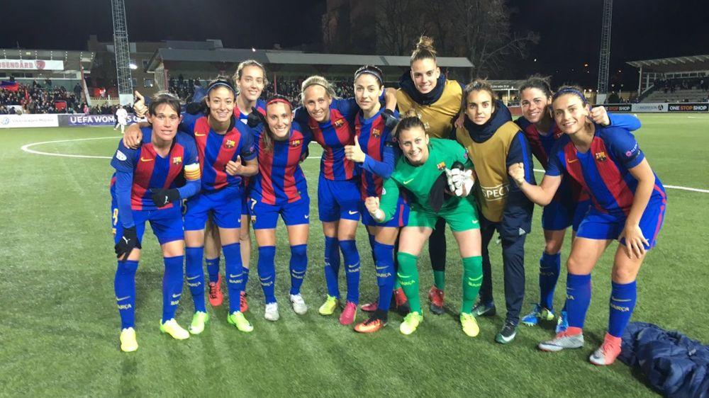 Récord de asistencia en el Barcelona - PSG de la Champions League femenina