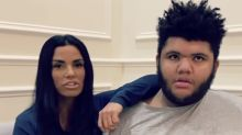 Katie Price hits out at 'fame-hungry' ex Kris Boyson after he shares Instagram message for Harvey