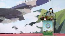 Taiwan's Tsai emphasizes defense amid growing China threat