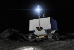 NASA's VIPER Rover will explore the moon's Relay Crater