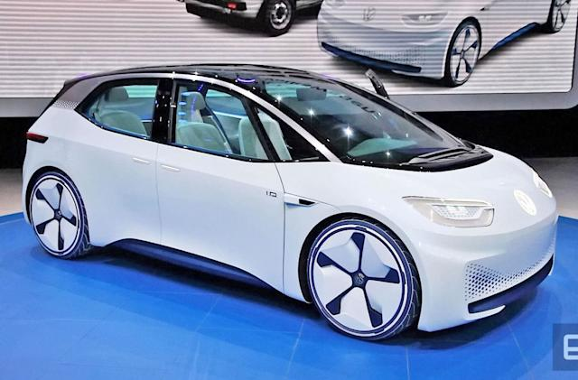 VW's I.D. EV will deliver a 300 mile range for the price of a Golf