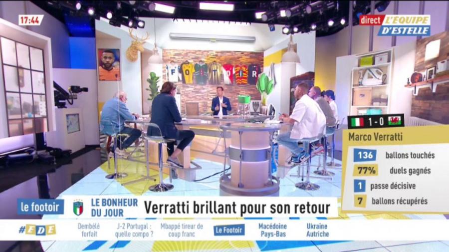 L'Équipe d'Estelle - extrait : Le Footoir du 21 juin 1re partie
