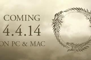 The Elder Scrolls Online wages war on April 14, 2014