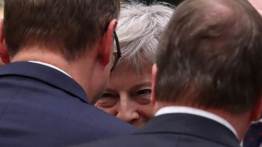 EU leaders deliver devastating blow to May