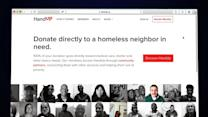 Start up using tech to bring hope to the homeless