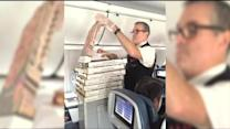 How Would You Like A Pizza Party In The Air?
