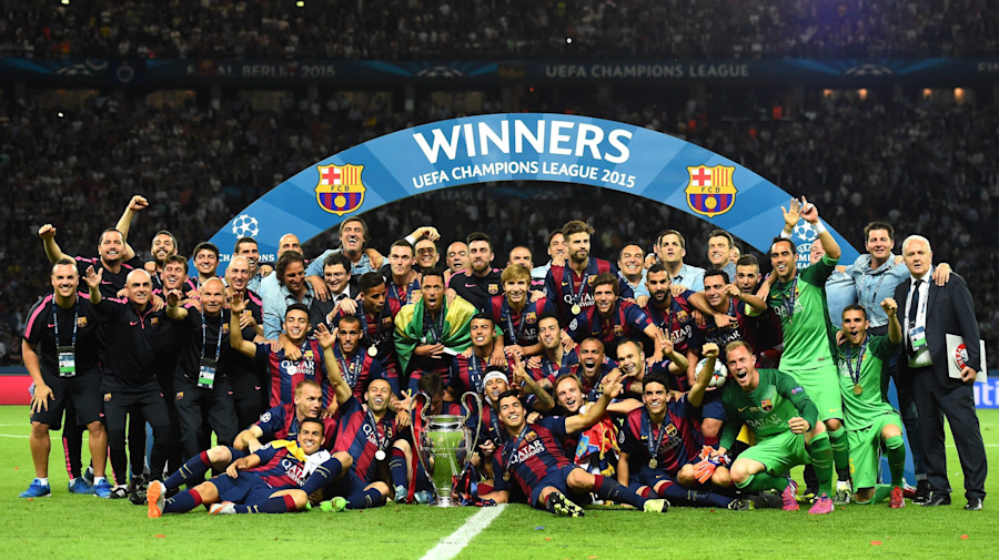 121 anos de Barcelona