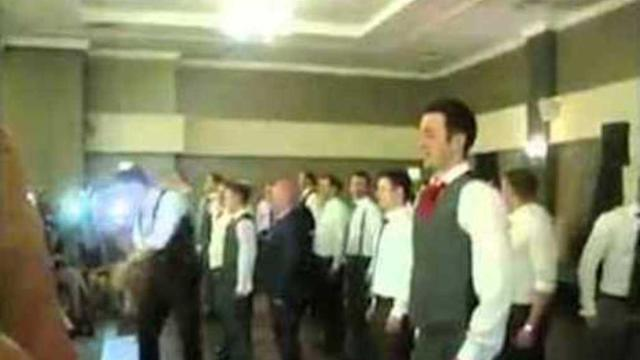 Irish Dancers in Wedding Performance to Remember