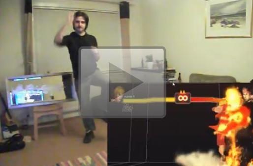 Kinect Hacks: Street Fighter IV gone gestural