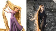 Dashik Gubanova, la sexy Rapunzel de carne y hueso que seduce en Instagram