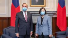 This is the start of a new cooperation, Taiwan's president tells US health secretary on landmark visit