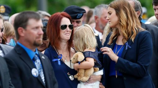 Slain Baton Rouge Police Officer and Veteran Mourned at Funeral