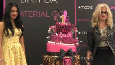 Lourdes Leon And Kelly Osbourne Celebrate Material Girl's 1st Birthday