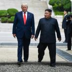 Trump warns Kim has 'everything' to lose through hostility