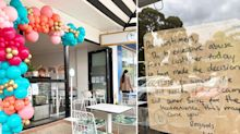'Excessive abuse': Cafe staff in tears after vicious abuse from customer