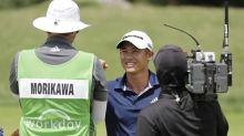 Morikawa hangs on for PGA playoff win