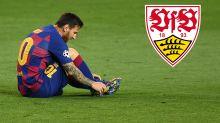 Fans des VfB Stuttgart sammeln Geld für Transfer von Lionel Messi