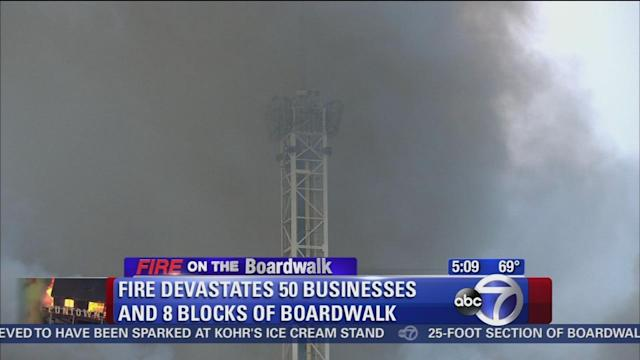 Business owners, residents react to boardwalk fire