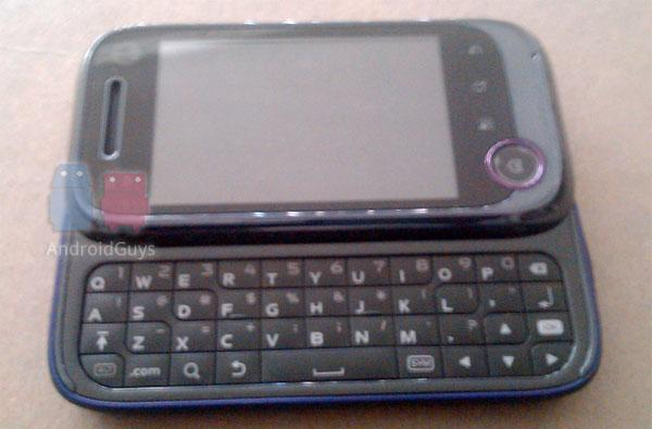 Metro PCS to join Android game with a Motorola QWERTY slider