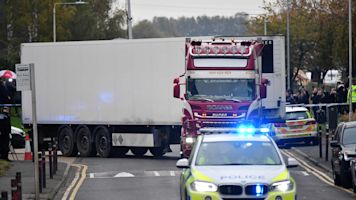 Manslaughter charges after 39 bodies found in truck