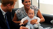 Baby Archie wears H&M dungarees for first royal tour appearance