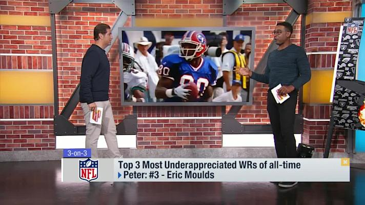 Top 3 underappreciated WRs of all-time 'GMFB'