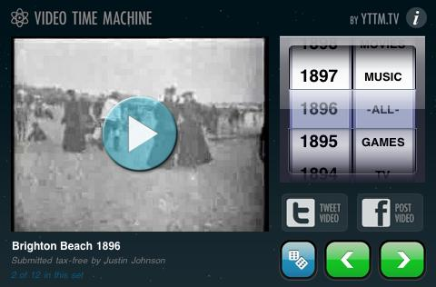 Video Time Machine for iOS (hands-on)