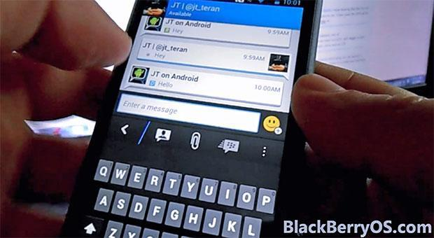 BBM for Android will look like this: beta tester gives you the tour (video)