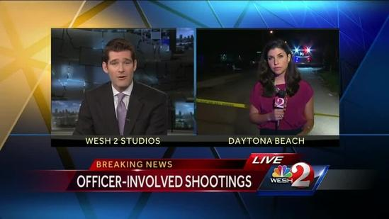 PD: Officers shoot man who was stabbing woman in Daytona Beach