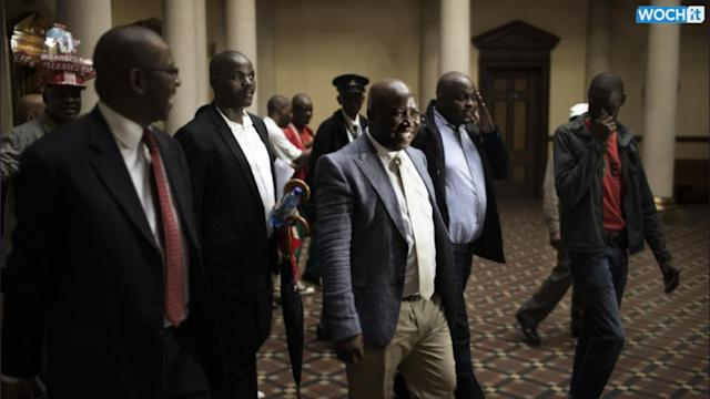 South African Lawmakers Chant 'pay Back The Money' At Zuma