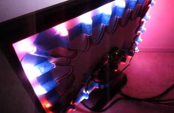 Arduino-powered lighting system infuses your LED with some Ambilight-like pizazz (video)