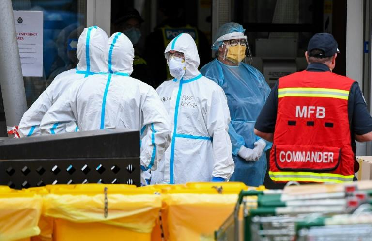 Australia locks down second city as global cases top 12 million