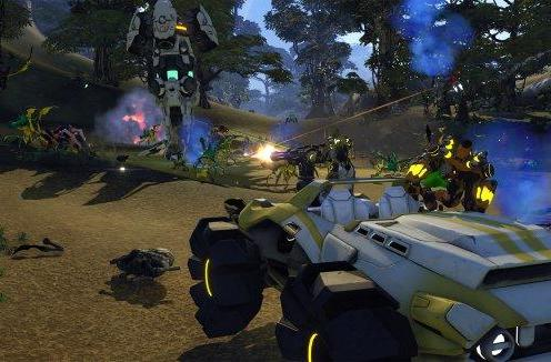Exclusive: The weapons of Firefall's Elemental Destruction