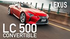 【Andy老爹試駕】LC 500 CONVERTIBLE ft.百變賽車手IRIS