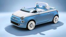 全新世代的復古開蓬車Fiat 500 Spiaggina!在馬路上肯定成為焦點