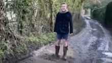 TV presenter Ben Fogle among celebrities lining up to jump in puddle for charity