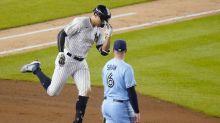 Yanks hit 5 HR in inning, top Toronto 10-7 for 8-game streak