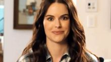 'Schitt's Creek' star Emily Hampshire tells us who she'd most like to stay with at the Rosebud Motel and more