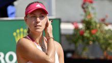 Kerber se despide de Roma en la primera ronda
